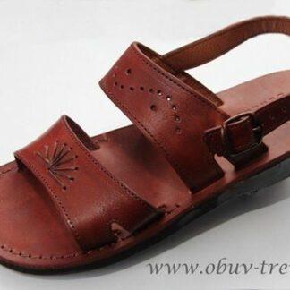 kožené sandály z Egypta Ramesse
