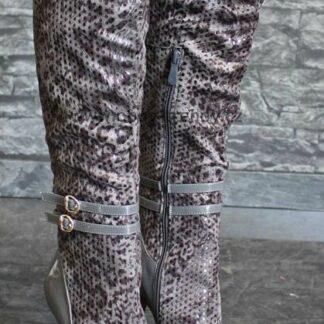 luxusní kozačky nad kolena vel.40