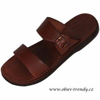 ručně šíté kožené sandály Teneb