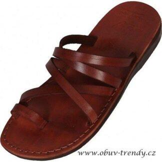 Ahmose kožené sandály kristusky
