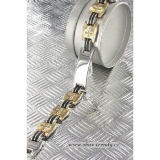 Magnetický náramek z nerezové oceli s germanium