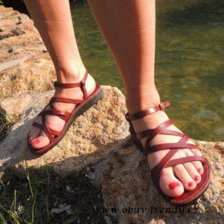 Šešonk kožené sandály