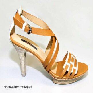 španělské kožene sandály Zinda vel.40