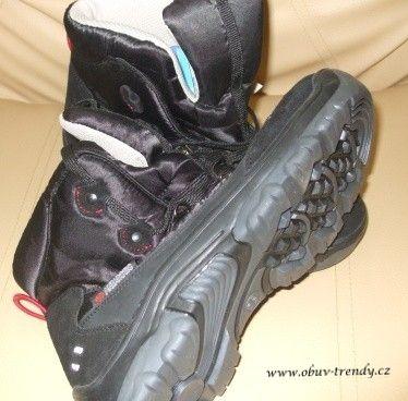 dětské zimní boty černé