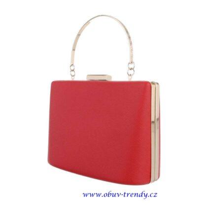 malá kabelka do ruky červená1