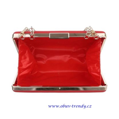 malá kabelka do ruky červená4