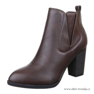 chelsea boty hnědé vel 40
