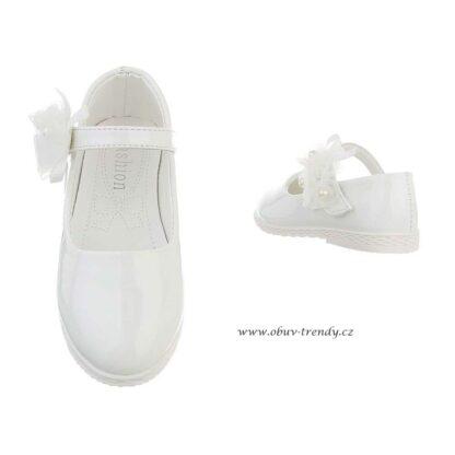dětské baleríny bílé