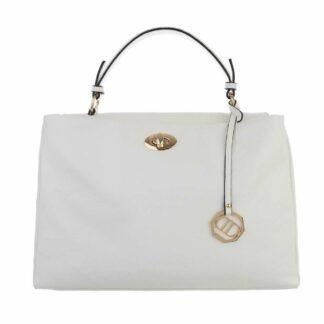 Dudlin kabelka do ruky bílá