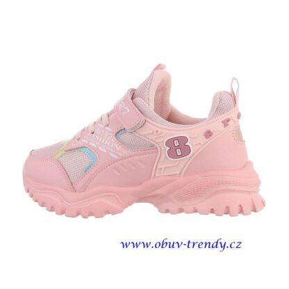 dětské tenisky růžové