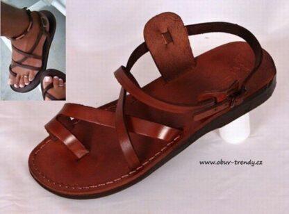 kožené sandály Menkaure