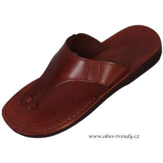 kožené sandály tutanchamon