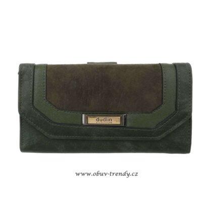 peněženka Dudlin zelená