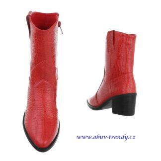 červené kovbojky