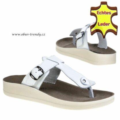 kožené sandály Vera Pelle