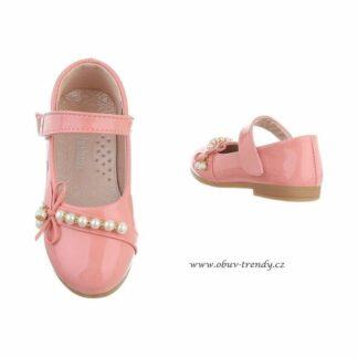 dětské balerinky růžové