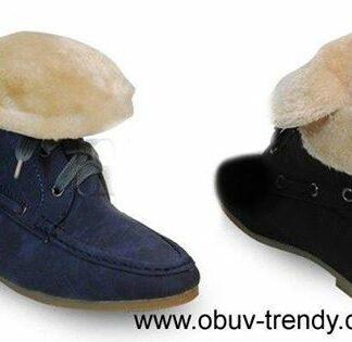 šněrovací boty podzim zima