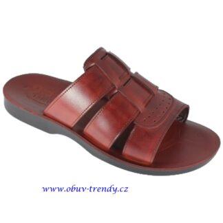 pánské kožené sandály z Egypta