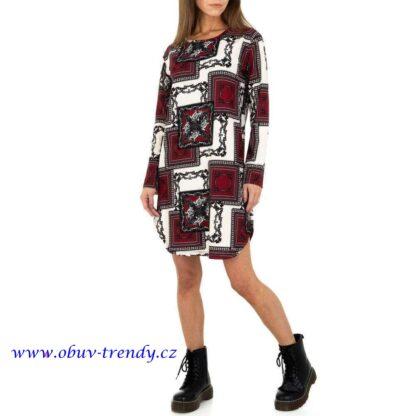 strečové šaty Holala