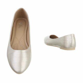 zlaté baleríny dámské
